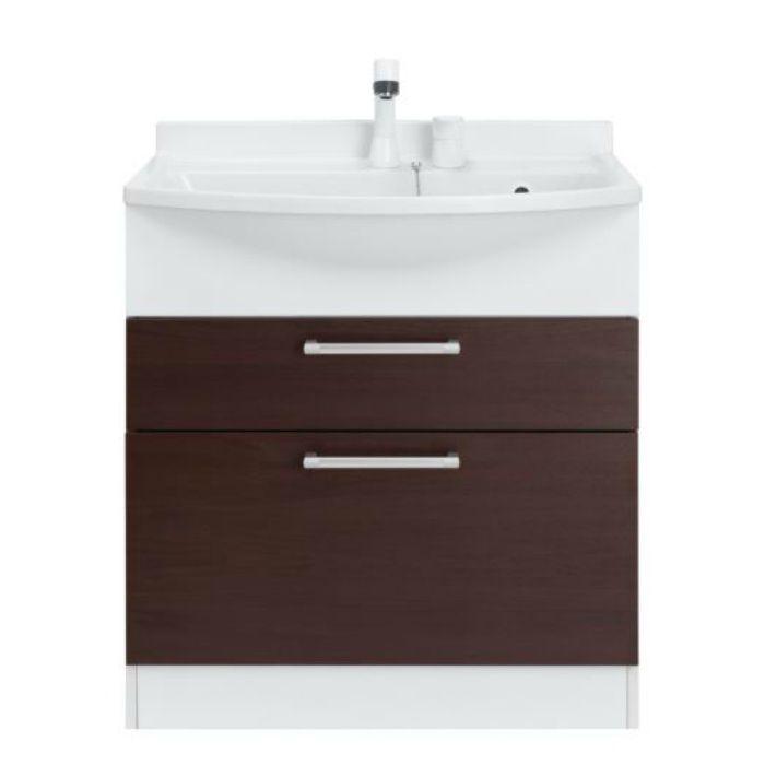 LKAL750AUNJ5SBLHW1 洗面化粧台セット アルバ750 ホワイト 一般地仕様