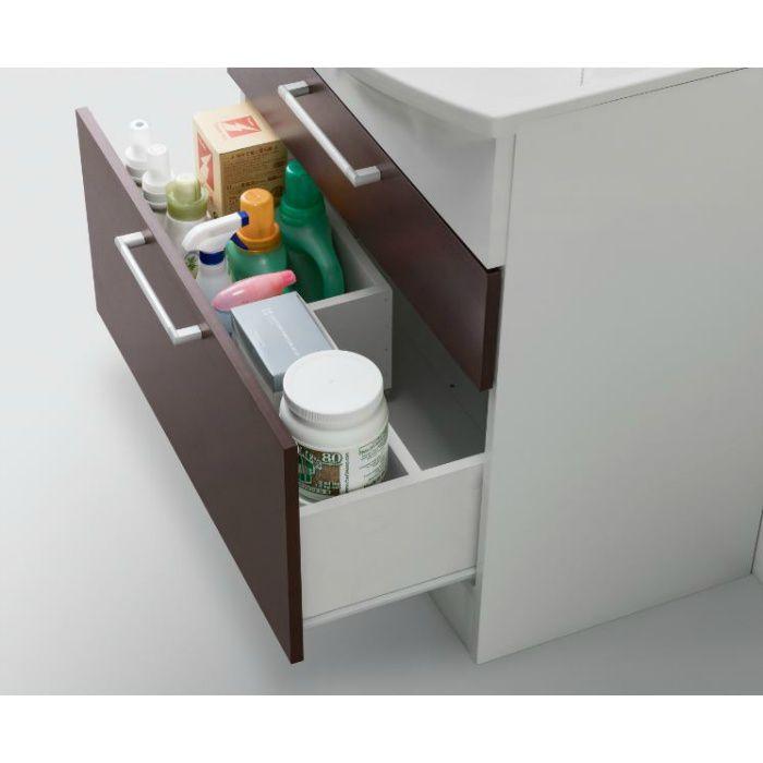 LKAL750AUNJ5SBLHD1 洗面化粧台セット アルバ750 ダークブラウン 一般地仕様