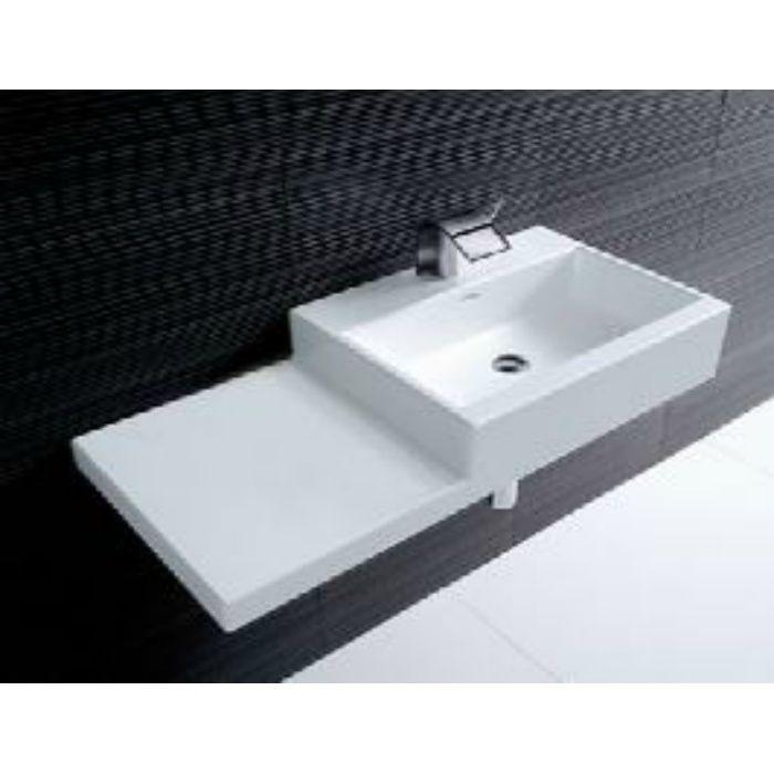 SL818431-W-104 kartell ラウフェン livingcity 洗面器 ホワイト 壁付・カウンター両対応