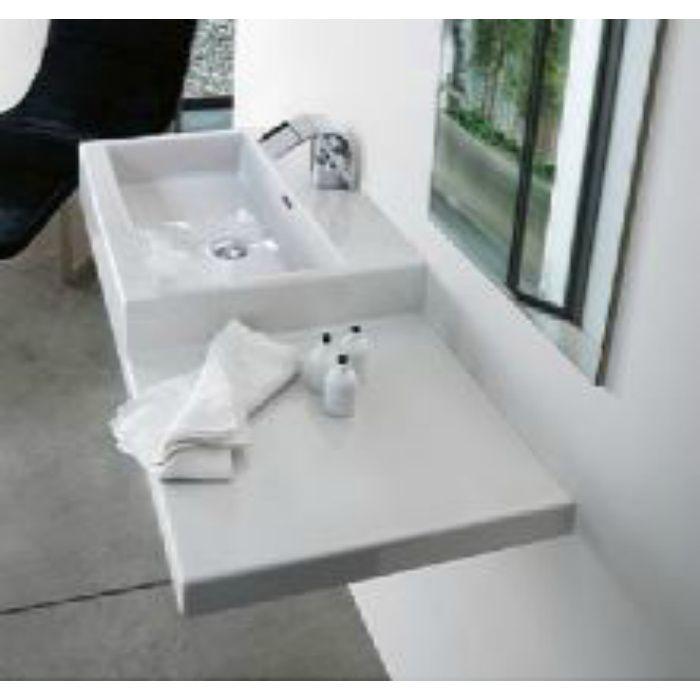 SL818432-W-104 kartell ラウフェン livingcity 洗面器 ホワイト 壁付・カウンター両対応