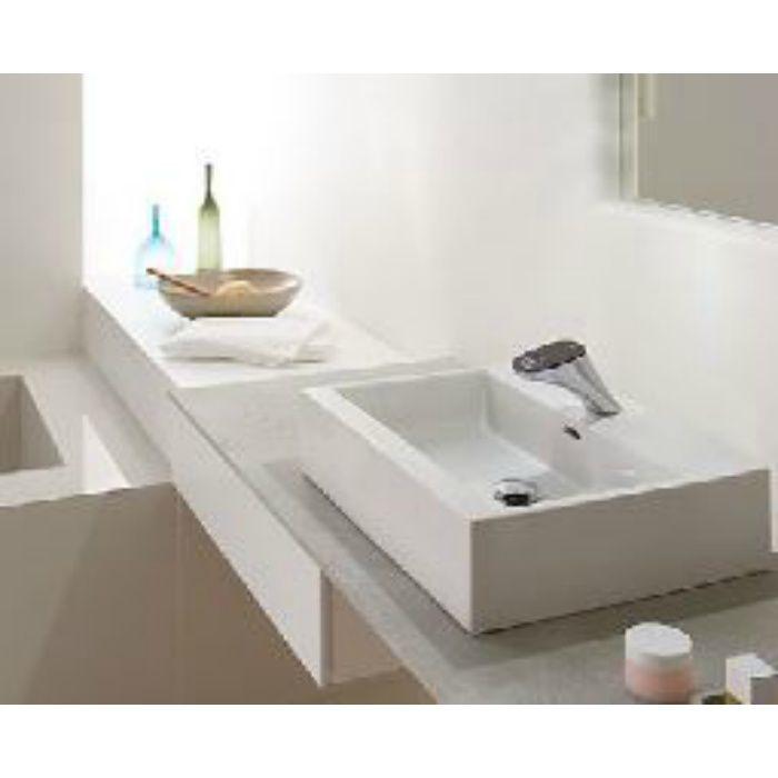 SL817436-W-104 kartell ラウフェン livingcityty 洗面器 ホワイト 壁付・カウンター両対応