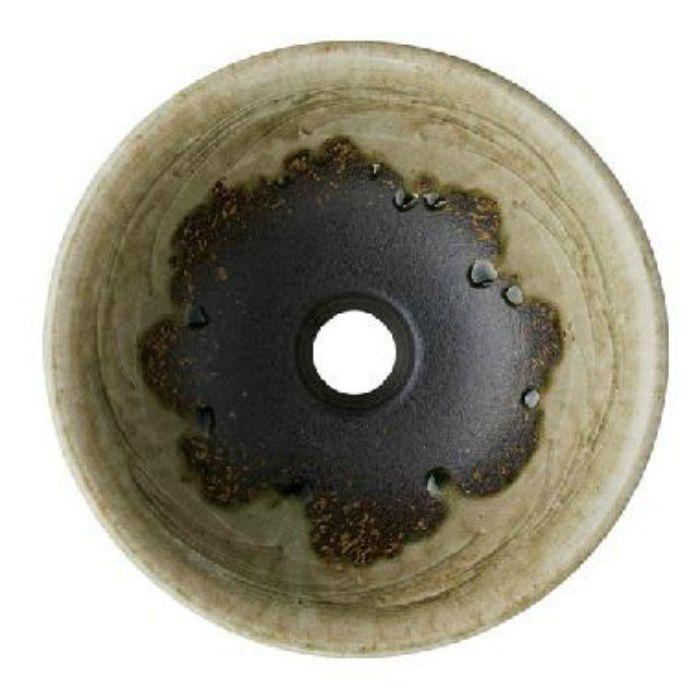 HW10230-023 「利楽」 手洗器(埋込型) 翠碧