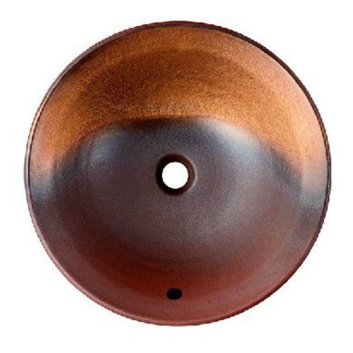 HW1024P-020 「利楽」 洗面器(埋込型・オーバーフロー) 茜