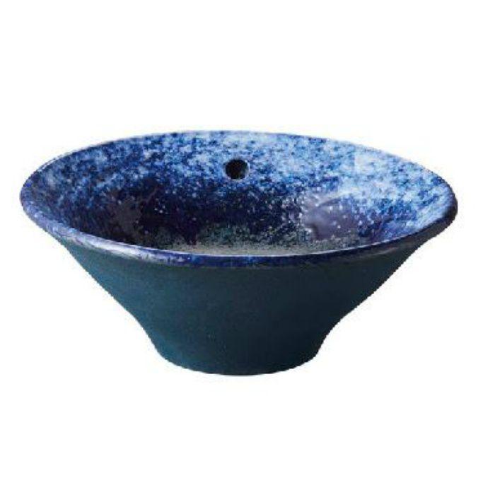 HW1026P-S-016 「利楽」 手洗器(オーバーフロー) 碧空