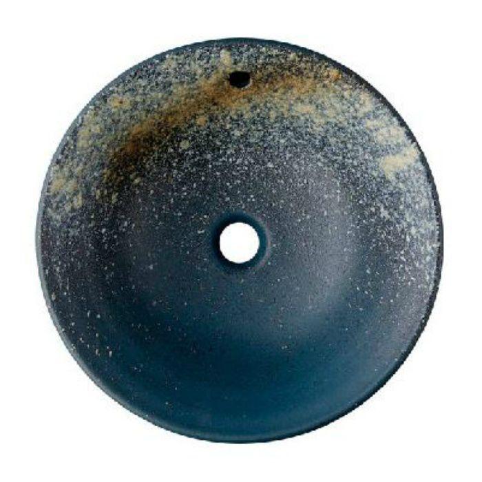 HW1026P-006 「利楽」 洗面器(オーバーフロー) 黄昏