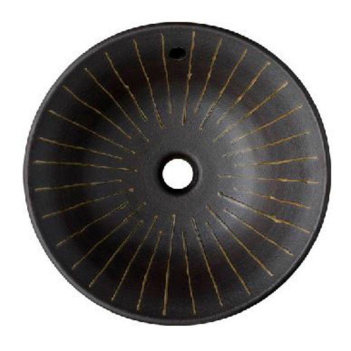 HW1026P-L-014 「利楽」 洗面器(オーバーフロー) 鐘