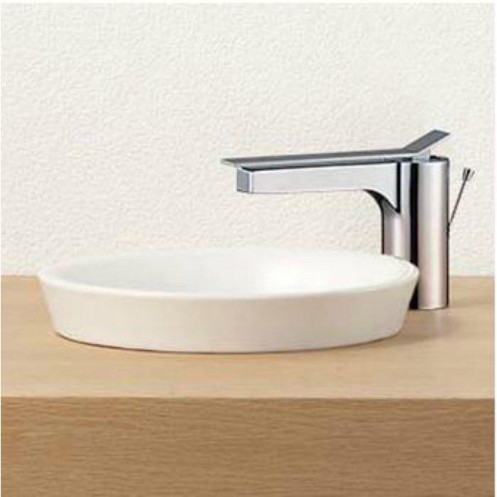 HW1021-W 信楽焼 手洗器(埋込型) ホワイト