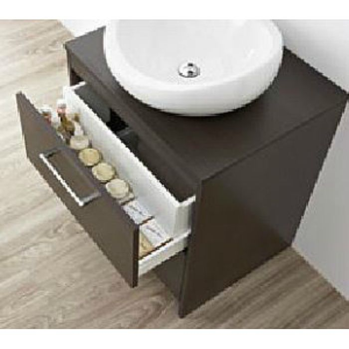 WF015S2-600-DB-T4 WAILEA 洗面化粧台(鏡付) ダークブラウン