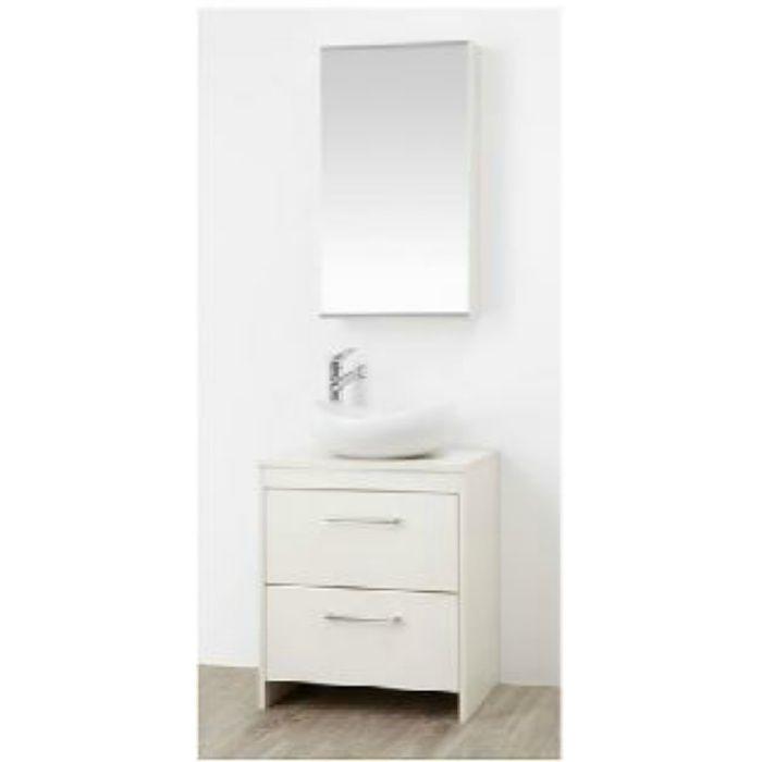 WF015S2-600-IV-T2 WAILEA 洗面化粧台(鏡付) ホワイト