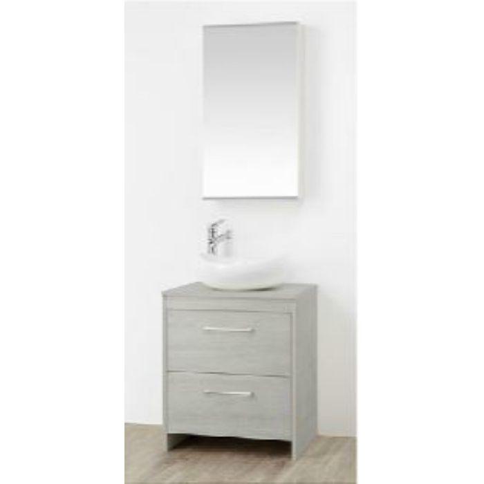 WF015S2-600-PG-T1 WAILEA 洗面化粧台(鏡付) グレー