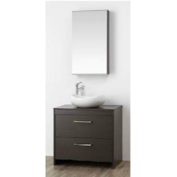 WF015S2-750-DB-T3 WAILEA 洗面化粧台(鏡付) ダークブラウン