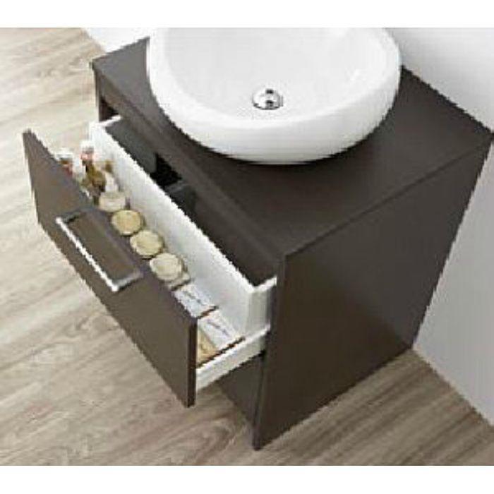 WF015S2-750-DB-T4 WAILEA 洗面化粧台(鏡付) ダークブラウン