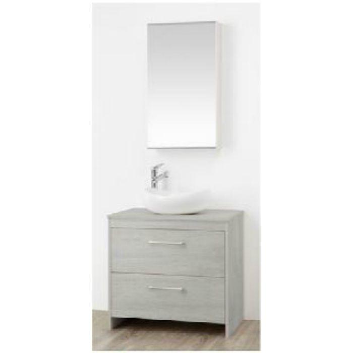 WF015S2-750-PG-T3 WAILEA 洗面化粧台(鏡付) グレー