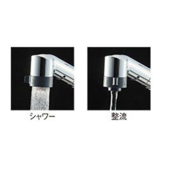 K8711MEJV-13 シングルワンホール切替シャワー混合栓【ワンホール】