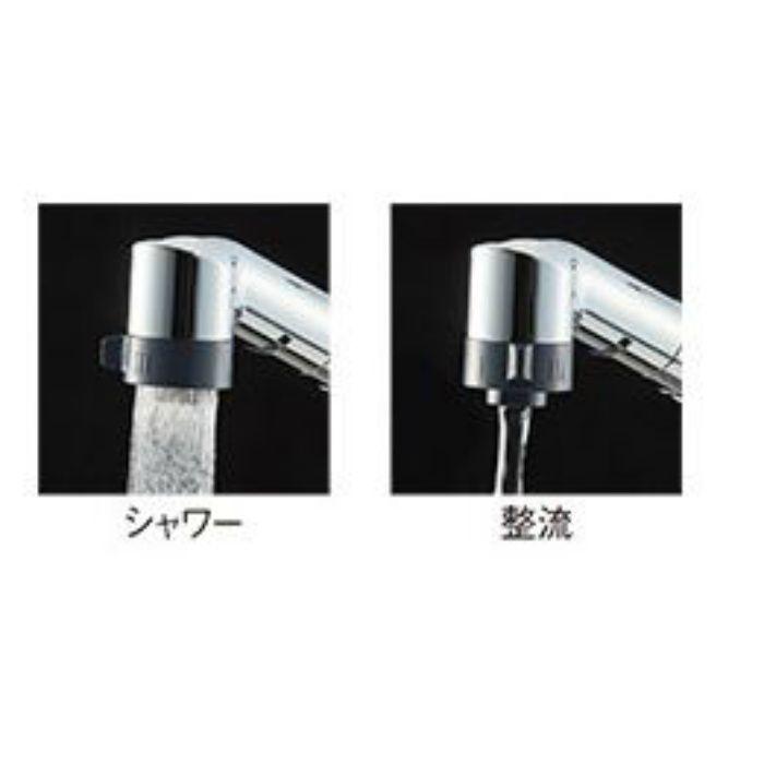 K6711MEV-13 シングル台付切替シャワー混合栓