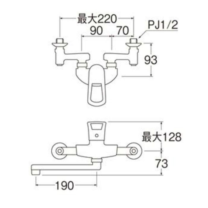 K1712-3U-13 COULE シングル混合栓
