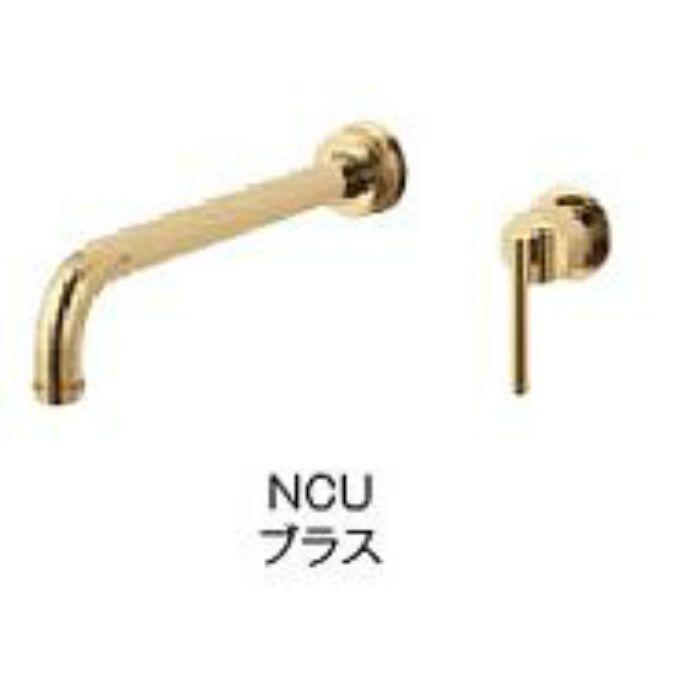 K4745K-NCU-13 cye シングル洗面混合栓(壁出)(寒冷地用) ブラス