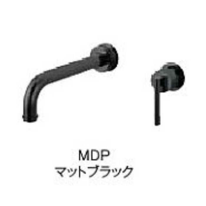 K4745K-S-MDP-13 cye シングル洗面混合栓(壁出)(寒冷地用) マットブラック