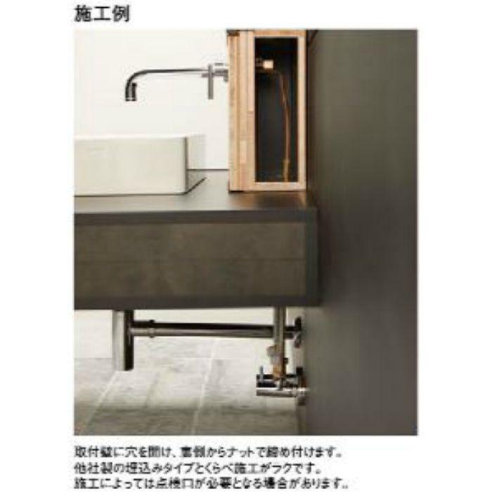 K4745K-S-NCU-13 cye シングル洗面混合栓(壁出)(寒冷地用) ブラス【壁付】