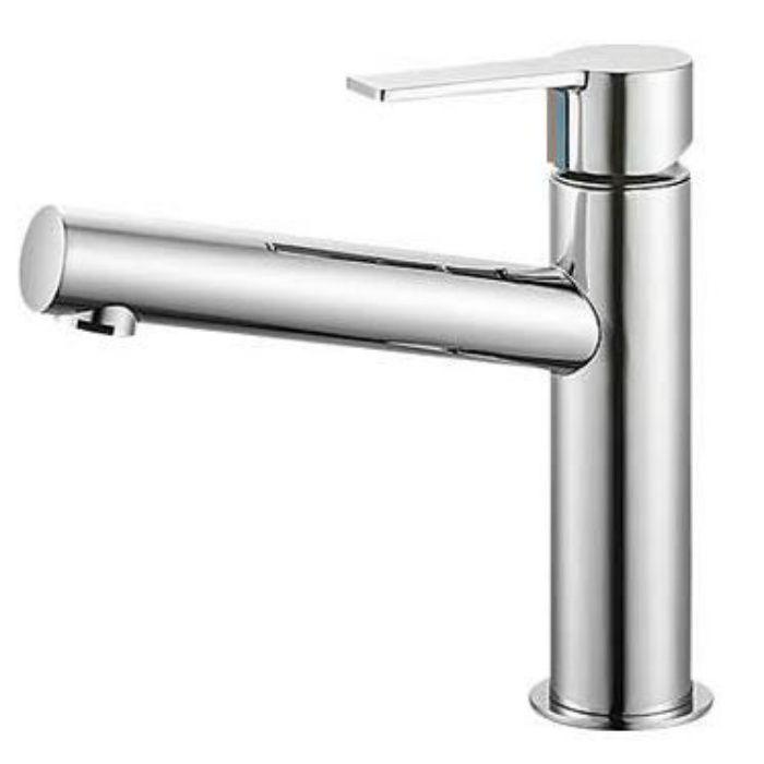 【壁・床スーパーセール】K4750NK-13 column シングルワンホール洗面混合栓(寒冷地用)
