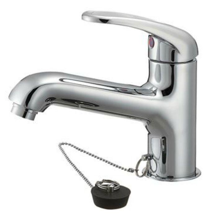 【壁・床スーパーセール】K4710JV-13 U-MIX シングルワンホール洗面混合栓
