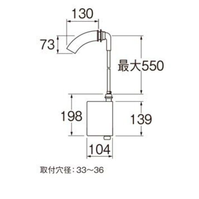 EY100HE-13 自動横水栓(発電仕様)