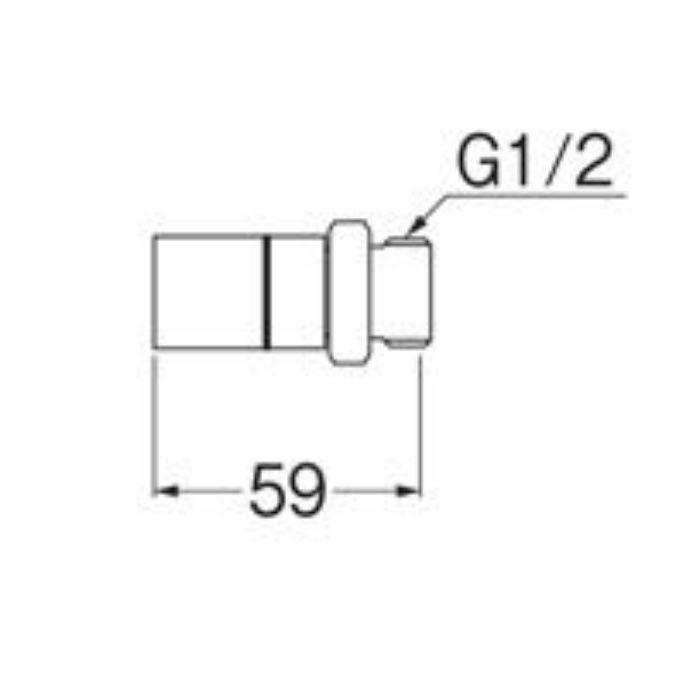 T601J-3-13X13A オスアダプター平行