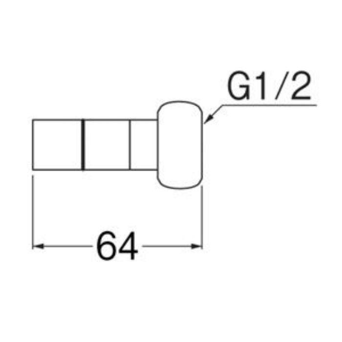 T615J-3-13X13A ナット付アダプター
