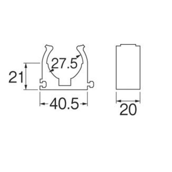 R6502-22 さや管連結サドル