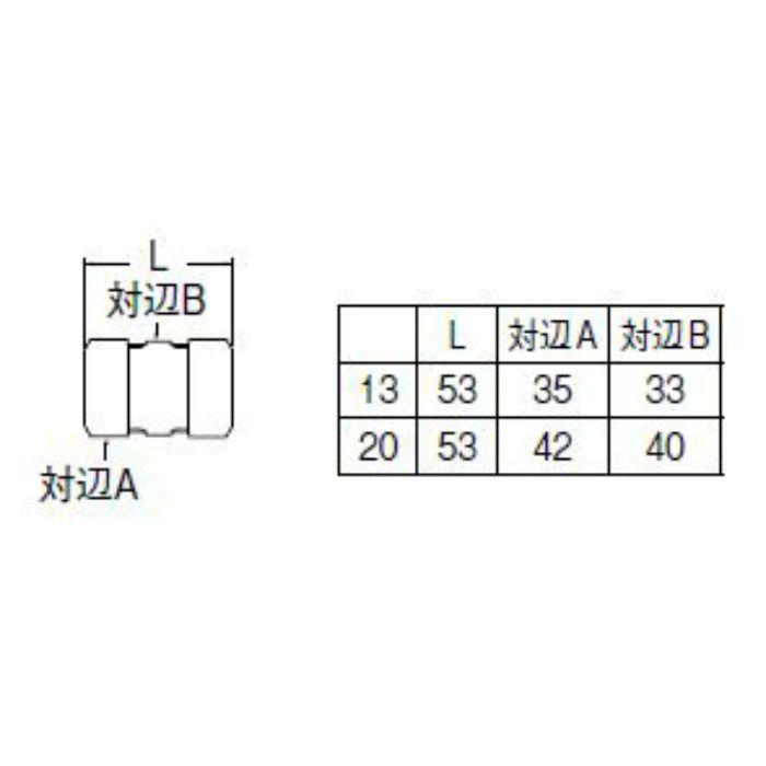 T64A-1-20 ポリパイソケット1種