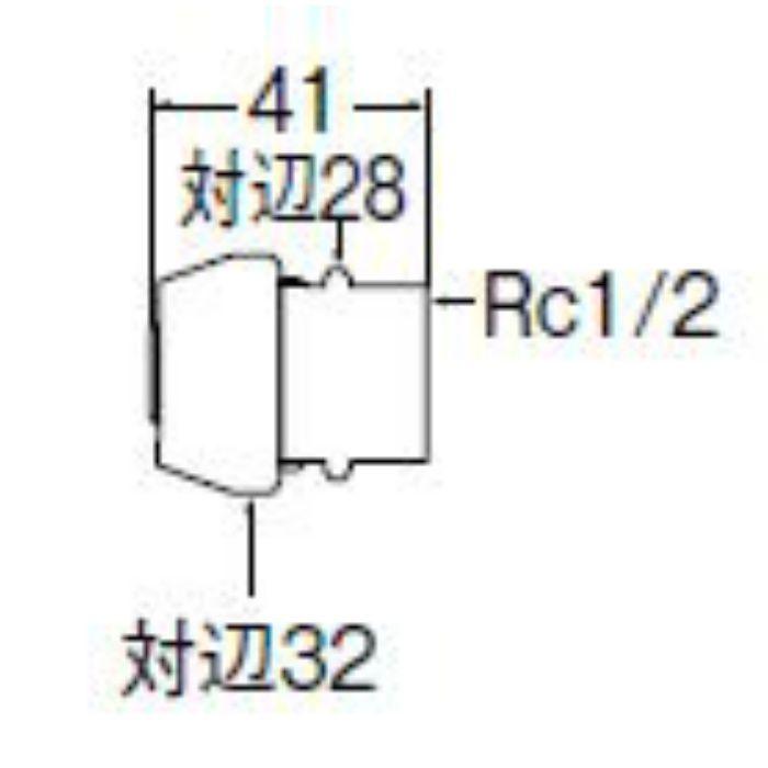 T61-1-13 ポリパイジョイント1種メス