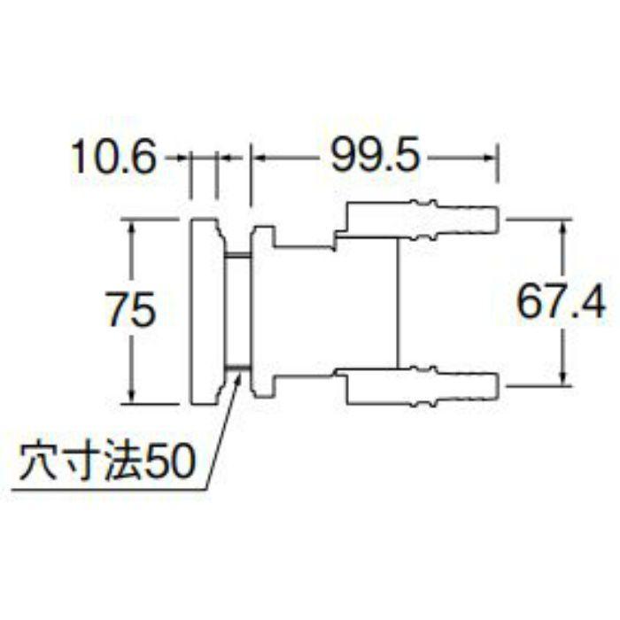 T412-34-10A 一口循環接続金具