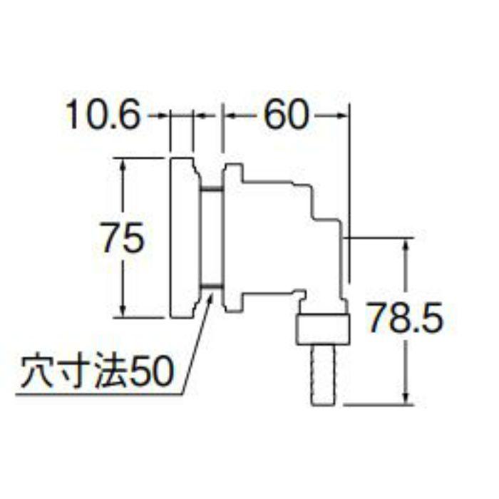 T412-545-10A 一口循環接続金具
