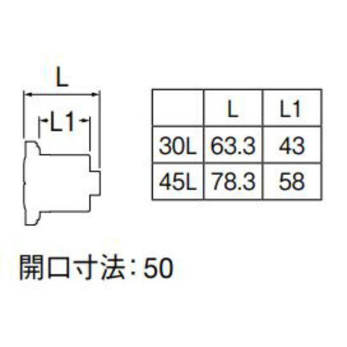 T4321-30L 厚板浴槽用アダプター