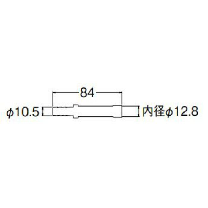 T421-5S-10AX12.7 ペア樹脂管銅管金具セット