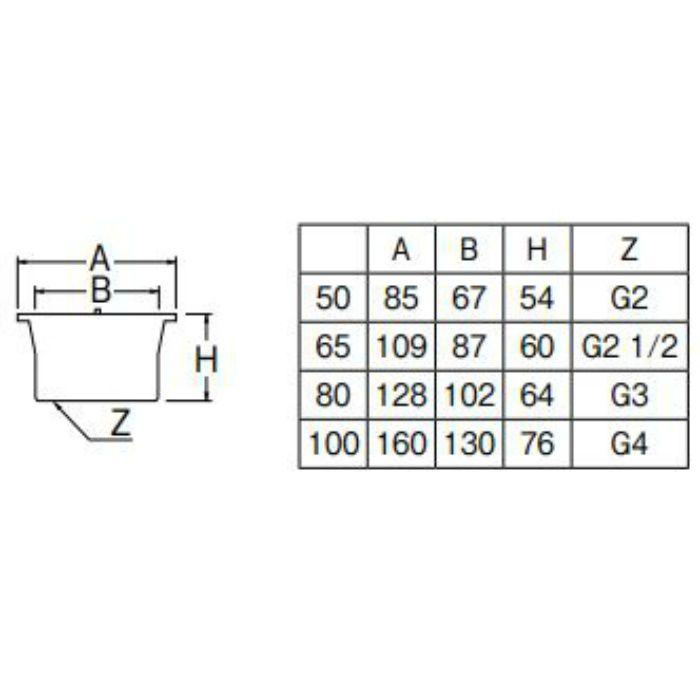 H220-65 親子共栓