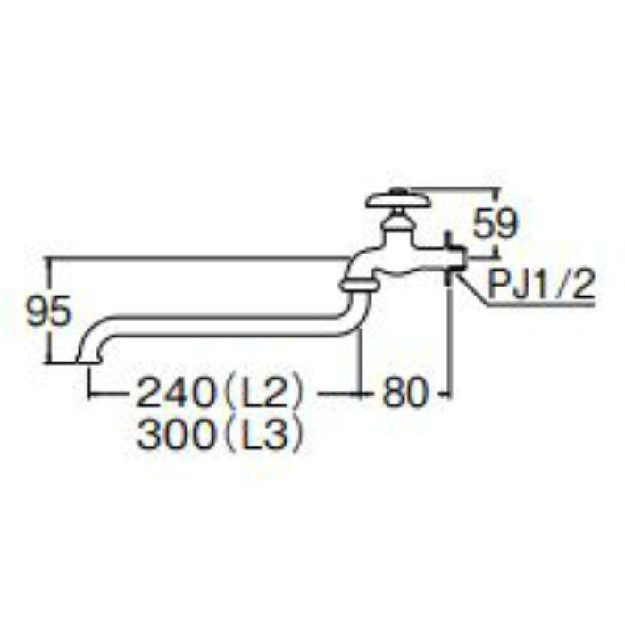 JA10J-L3-13 自在水栓