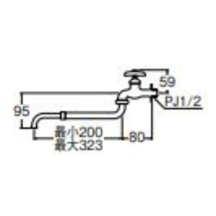 JA14A-13 伸縮自在水栓