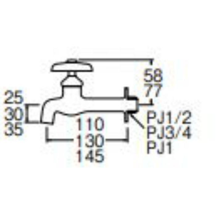 JY20J-13 胴長横水栓