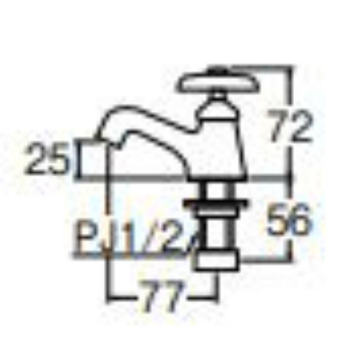 Y50J-13 立水栓【ワンホール】