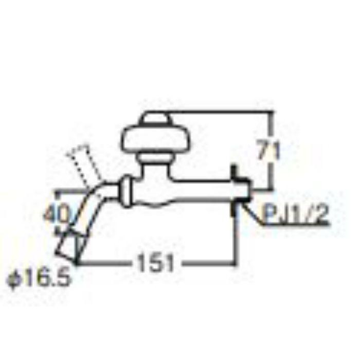 Y229A-13 自閉ホーム水栓