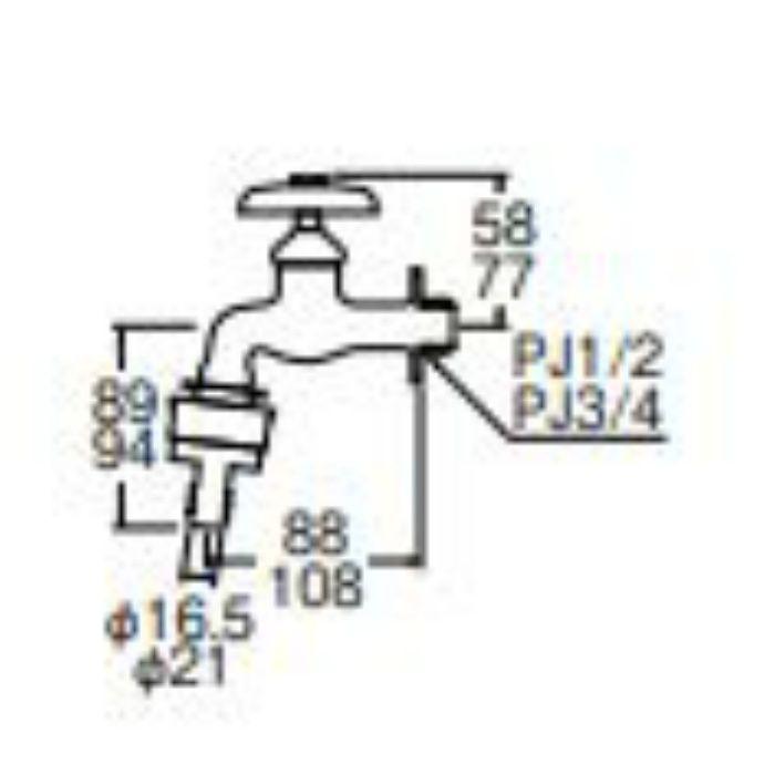 Y31JK-20 自動接手横水栓 寒冷地仕様