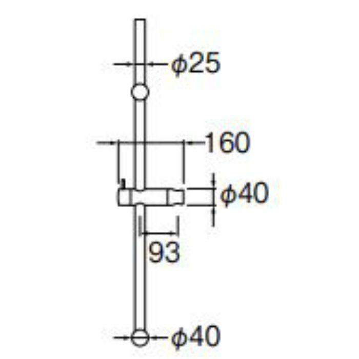W5852S-1000 スライドバー レバー式