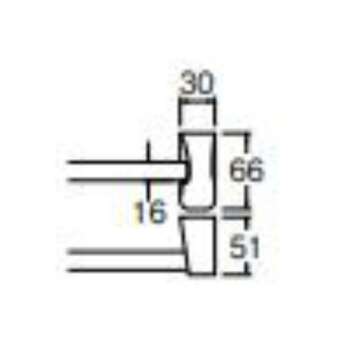 W531-457 Lタイプタオル掛