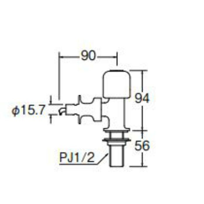 Y5050TV-13 食洗機用分岐止水栓