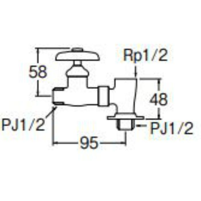 B21A-13 分岐バルブ