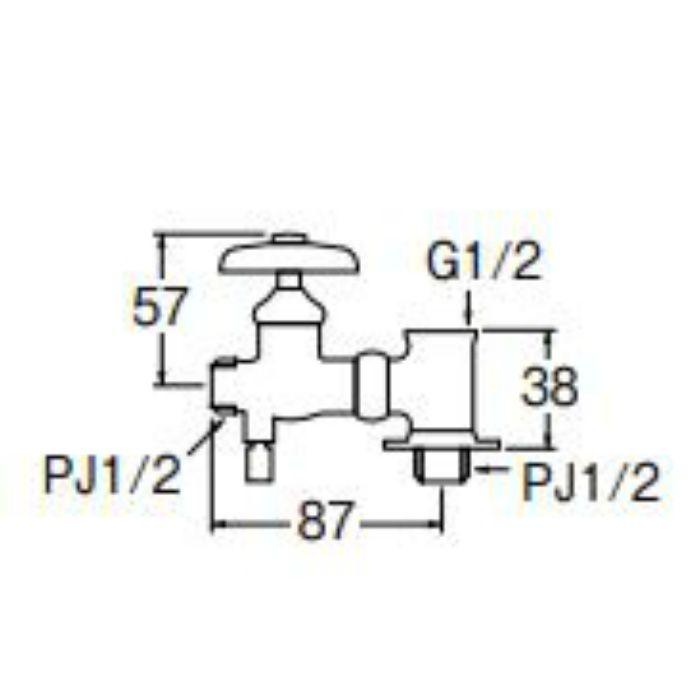 B24K-13 水抜分岐バルブ