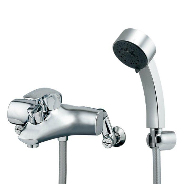 143-012 浴室水栓 シングルレバーシャワー混合栓【壁付】