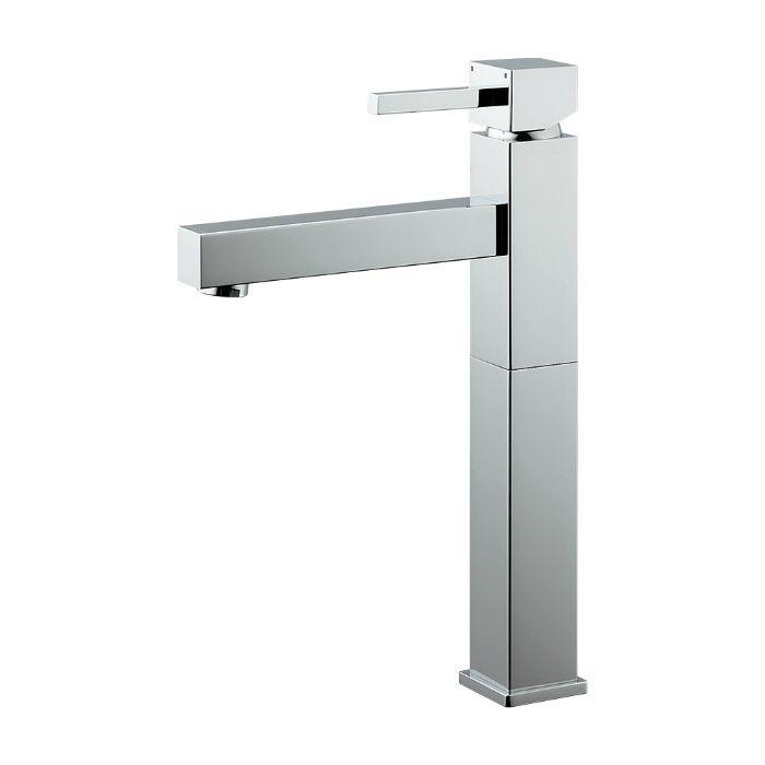 183-073 洗面水栓 シングルレバー混合栓(トール)