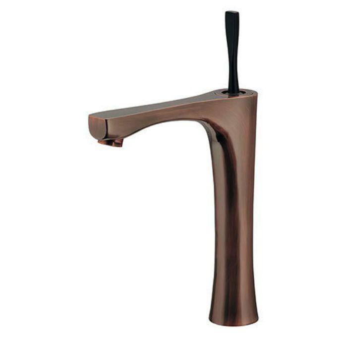 183-235-BP 洗面水栓 シングルレバー混合栓(トール) ブロンズ